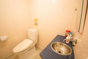 ブロッサムスタジオのトイレの画像