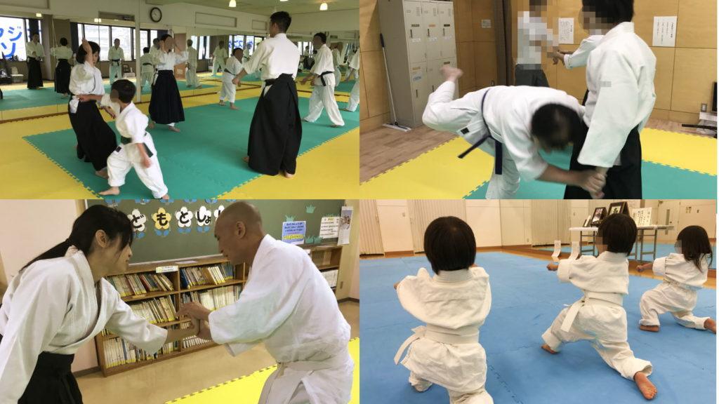 合氣道 横浜道場の練習風景2